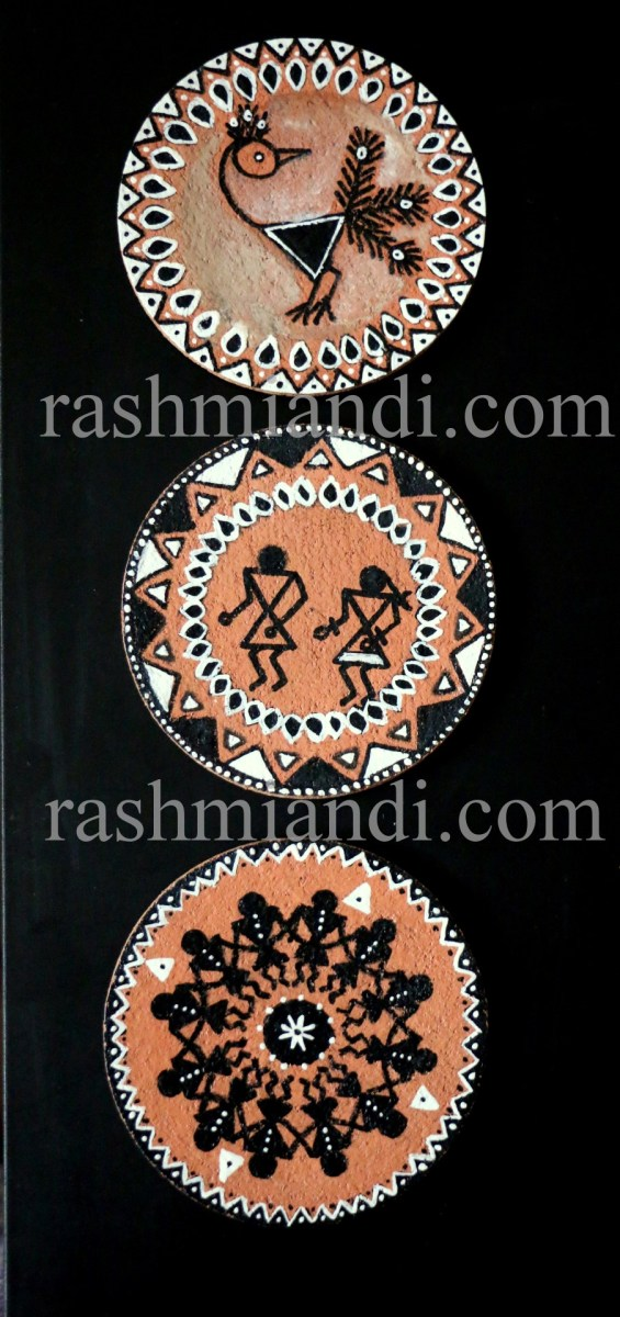 DIY: Warli Cork Coasters