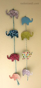 Simple Wall Hanging for Nursery Room.