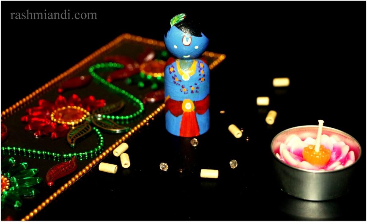 Handmade Wooden Golu Dolls
