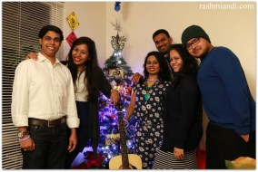 First Christmas Party 2014