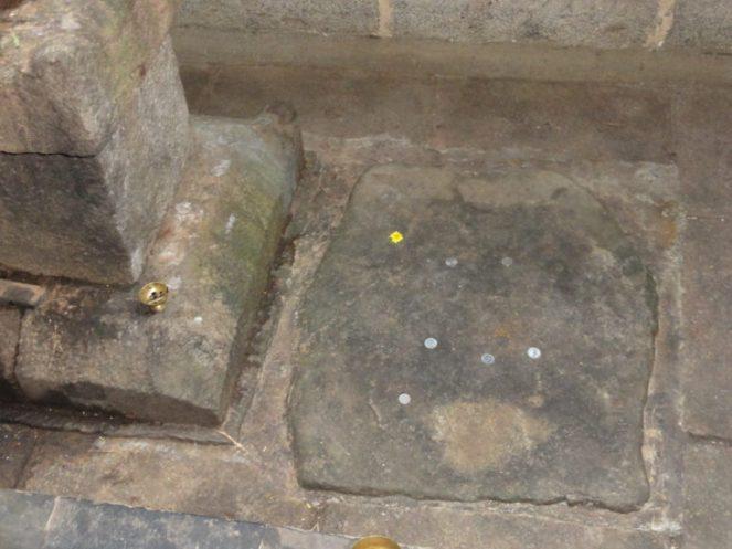 The 'aksharabhyasa' stone