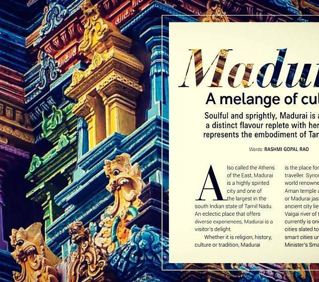 A kaleidoscope of experiences at Madurai check out my articlehellip