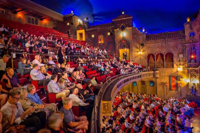 Tampa theatre interiors| Courtesy of Tampa Theatre