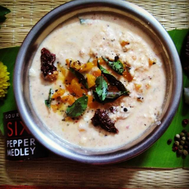 The goodness of sweet pumpkin pepper and fresh coconut combinedhellip