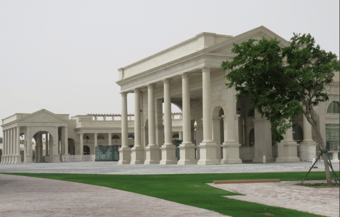 A view of Katara Cultural village in Doha