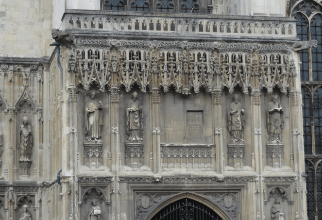 Facade of Canterbury Cathedral