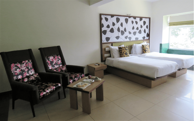 A view of the room: Sterling Wayanad