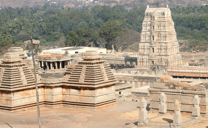 A view of Hampi