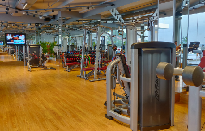 Fitness centre at Novotel Vijayawada Varun
