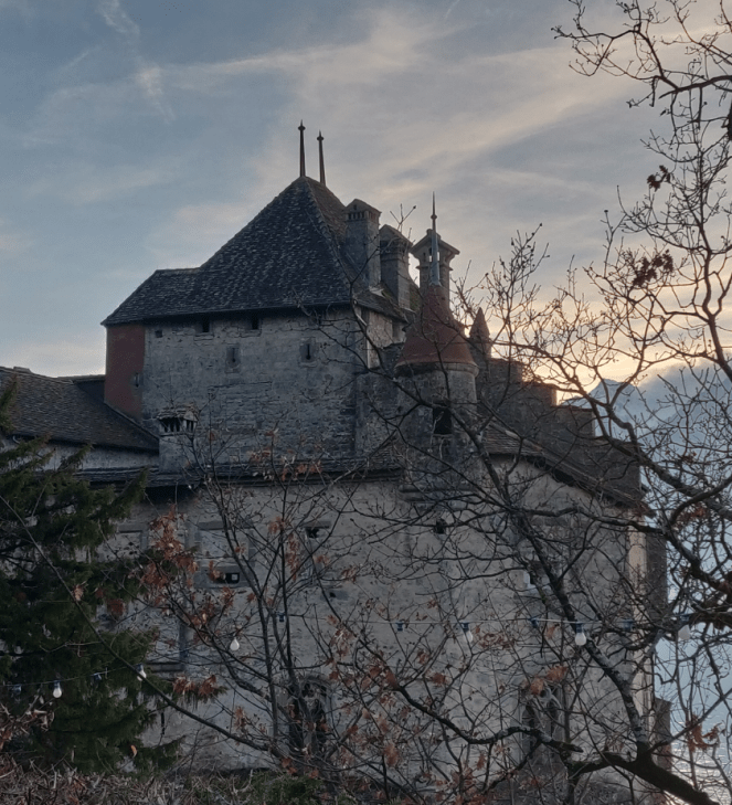 Another view of Château de Chillon