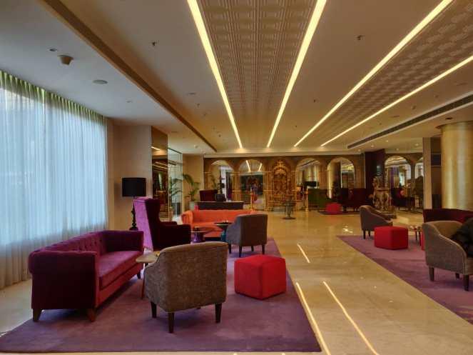 Interiors at Grand Mercure, Gopalan Mall