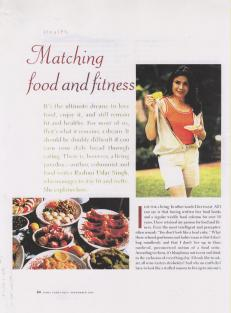 Food & Fitness page.1