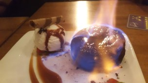 Chocolate Volcano