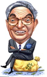 Convicted Of Fraud In France - George Soros The Puppet Master