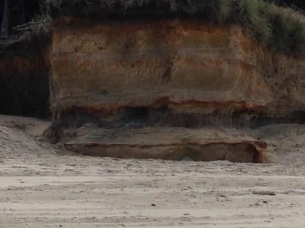 Colorful Beach Erosion