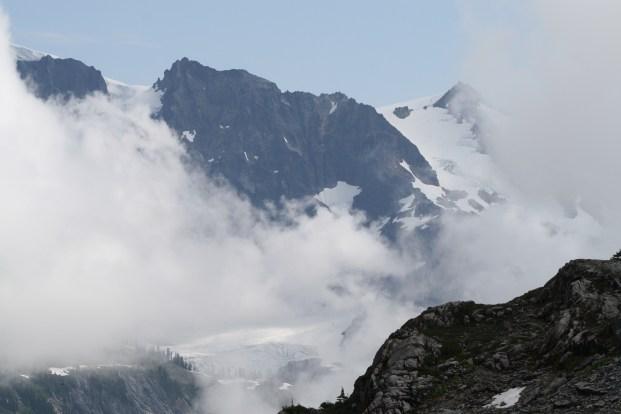 Mt. Shuksan in mist