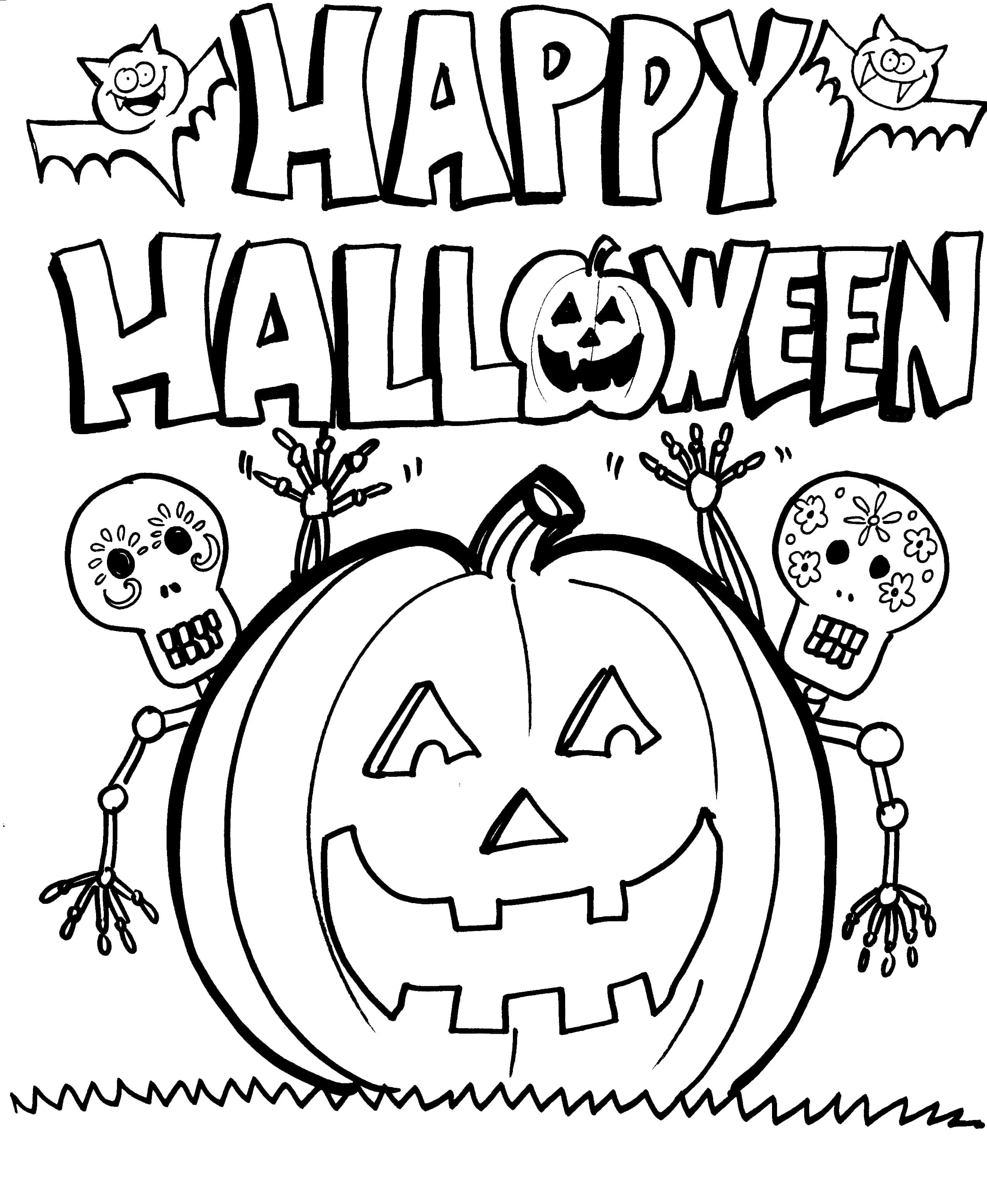 Halloween Coloring Pages 120 New Pictures Free Printable