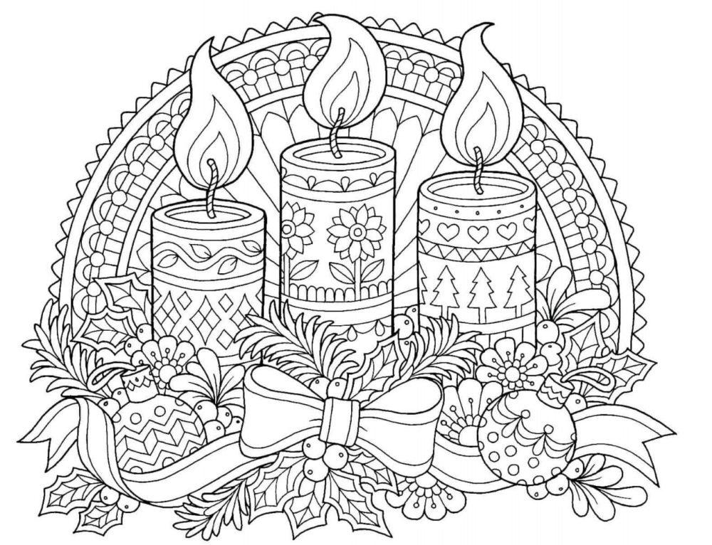 Gratis Ausmalbilder Zum Ausdrucken Weihnachten - Malvorlagen