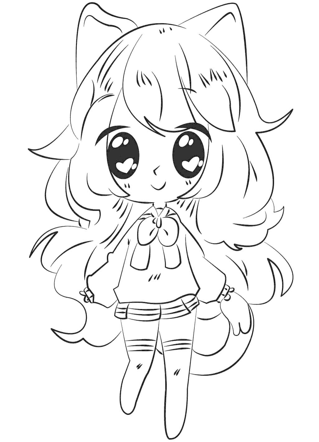 Gacha Life Coloring Pages Unique Collection Print For Free