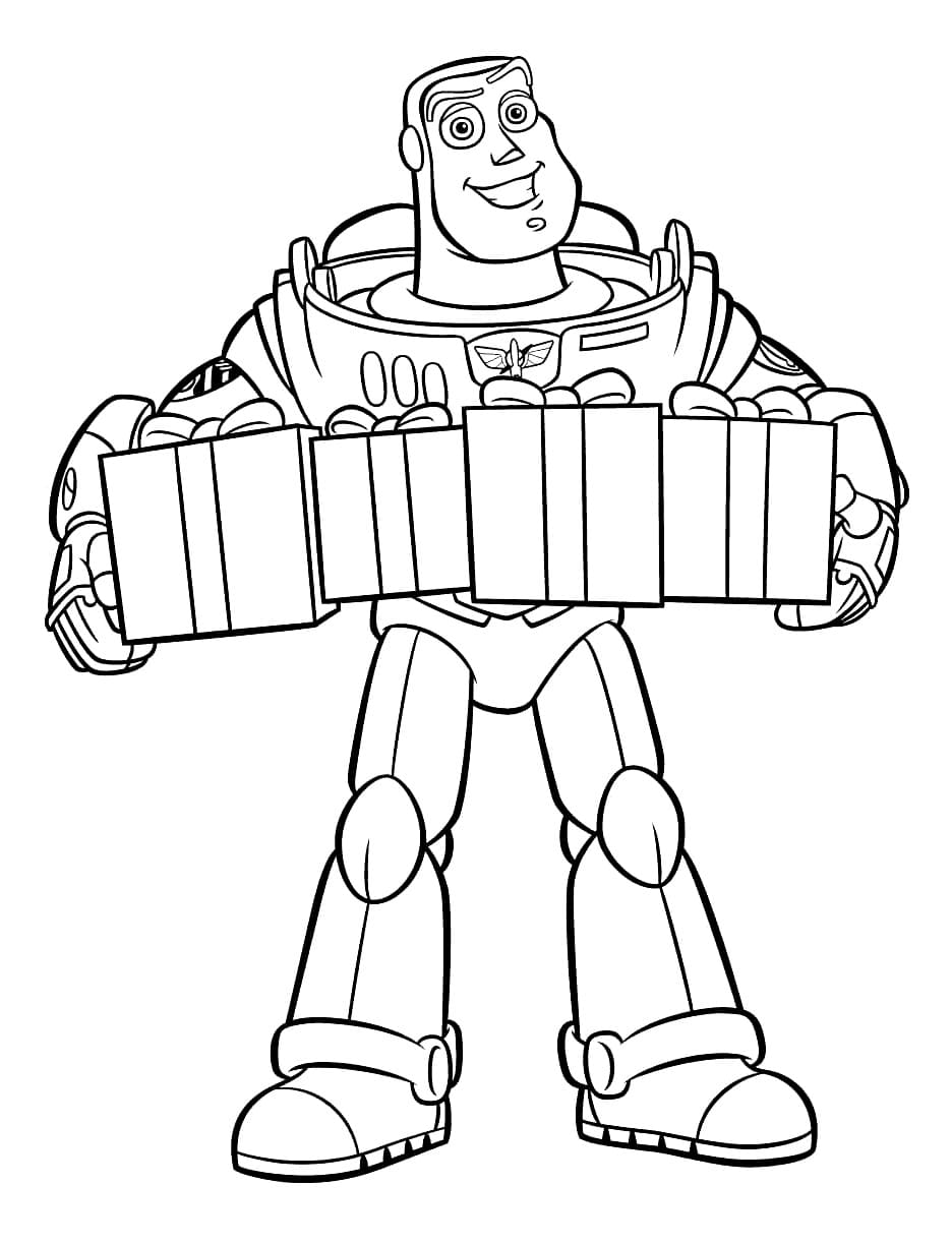 Coloring pages Toy Story. Print for free for kids