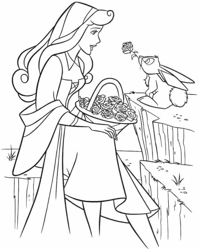 Coloriage Princesse. 23 images pour une impression gratuite