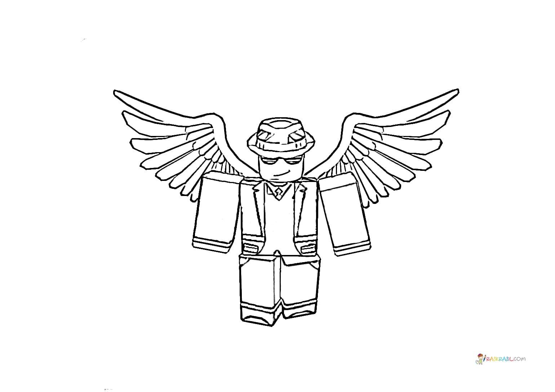 Roblox Ninja Dibujos Roblox Para Colorear