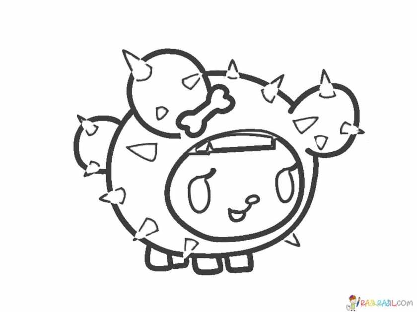 tokidoki coloring pages. print for free  pictures