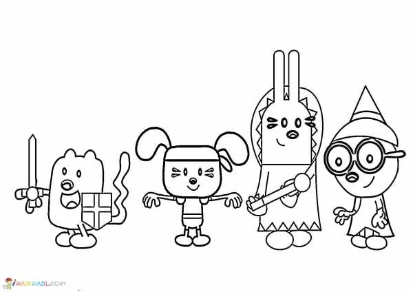 wow wow wubbzy coloring pages # 25