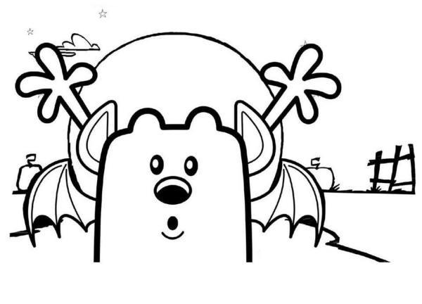wow wow wubbzy coloring pages # 19