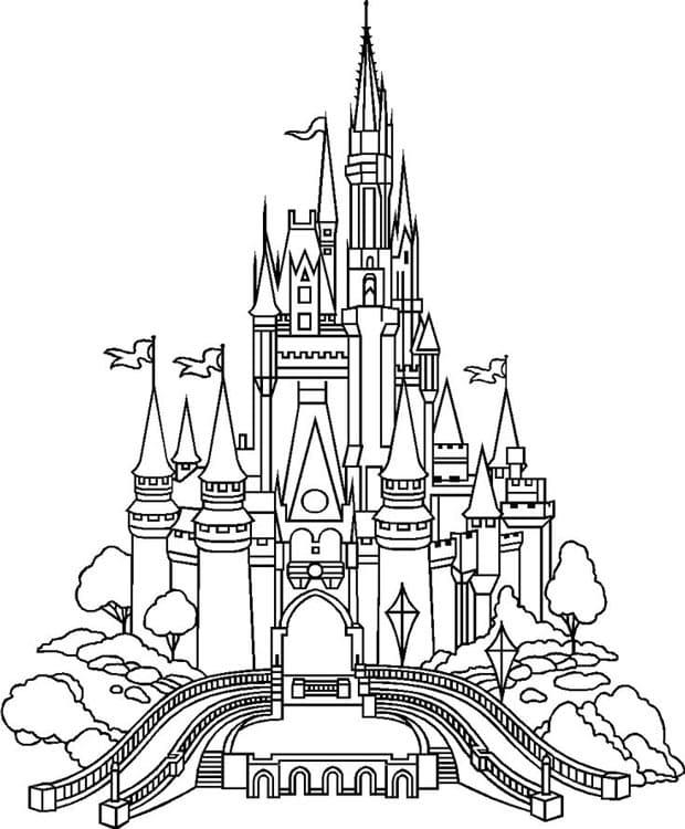 Hogwarts Castle Coloring Pages : hogwarts, castle, coloring, pages, Castle, Coloring, Pages, Images, Printable, Fabulous