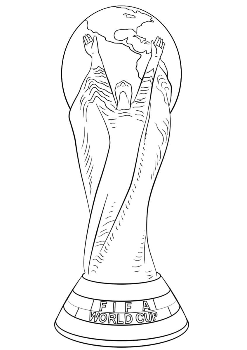 Dibujos de Fútbol para colorear. Imprimir en línea para niños