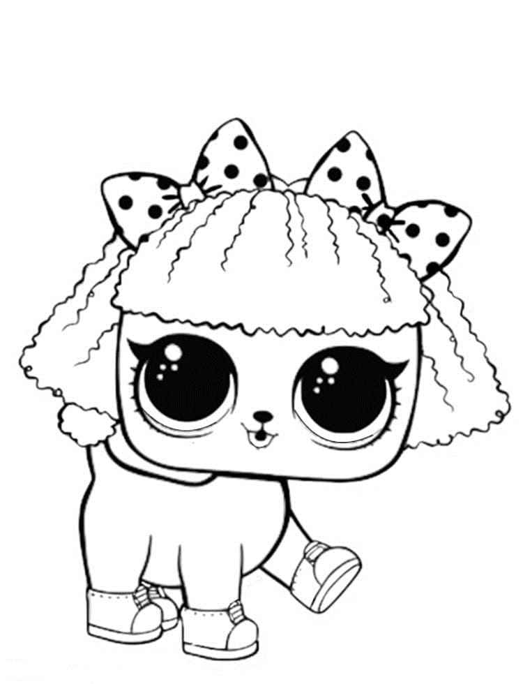 Lol Dog Coloring Pages : coloring, pages, Coloring, Pages., Images, Printable