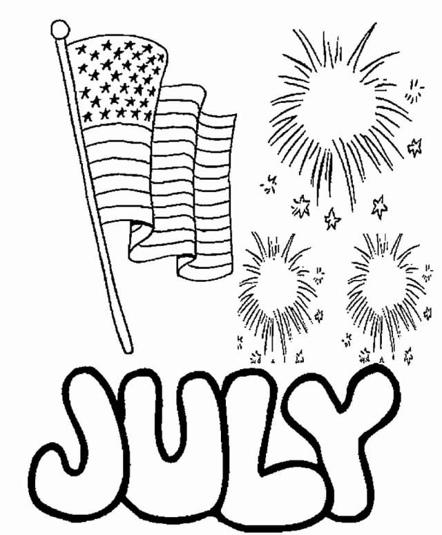26th Of July Coloring Pages  Independence Day Free Printable
