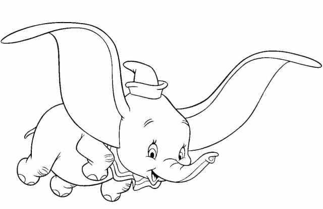 Coloriage Dumbo - 20 images à imprimer gratuitement