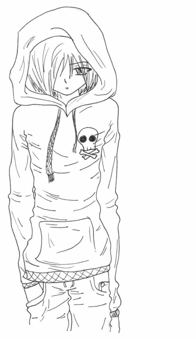 Anime Boys Coloring Pages  24 Pictures Free Printable
