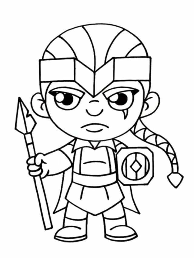 Clash Of Clans Coloring Pages  16 Pictures Free Printable