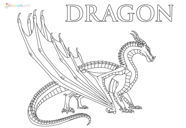 Dragon Coloring Pages  17 Pictures Free Printable