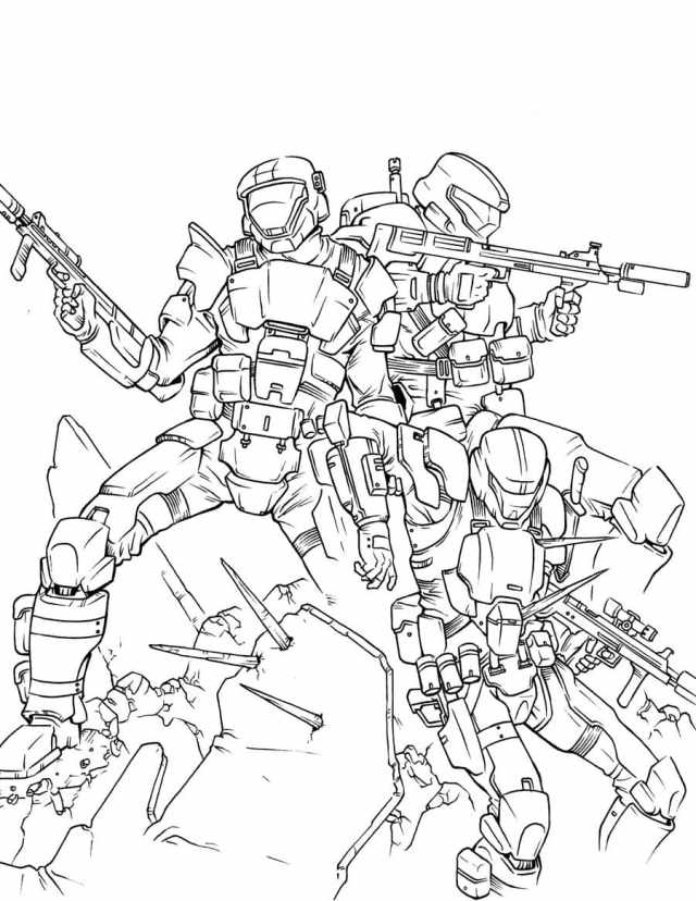 Halo Coloring Pages  29 Pictures Free Printable