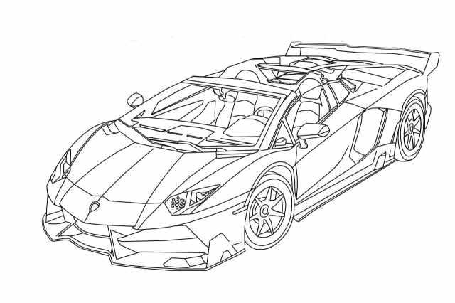 Lamborghini Coloring Pages  5 images Free Printable