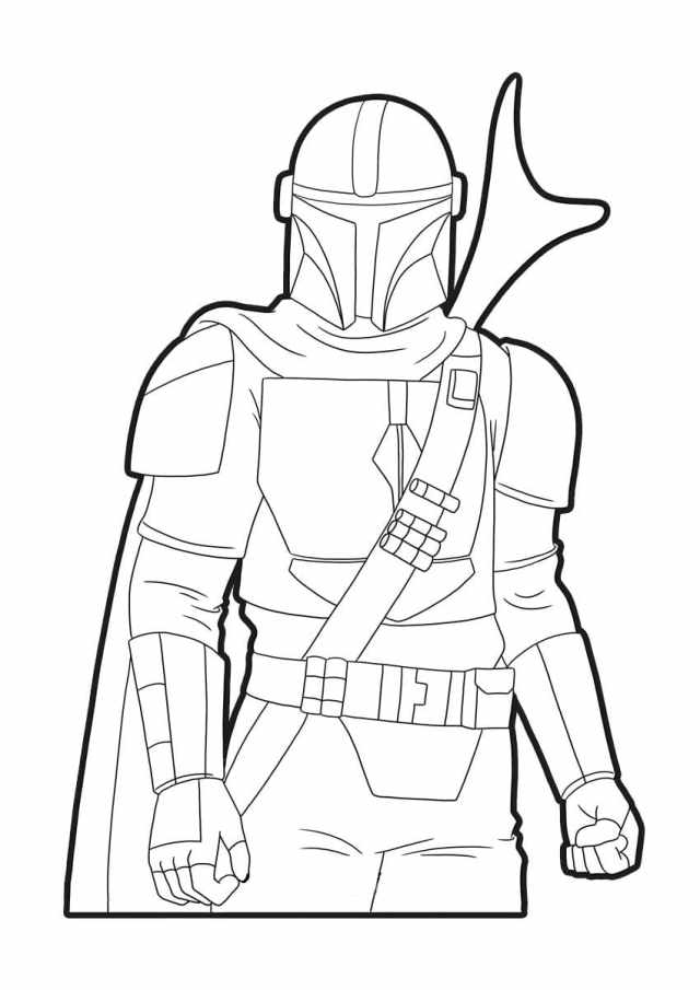 Mandalorian Coloring Pages  11 New images Free Printable