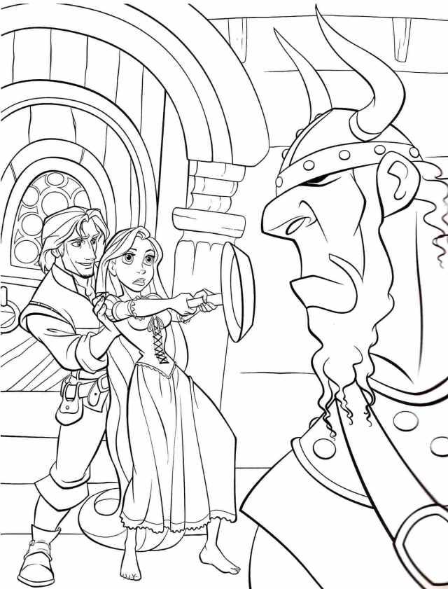 Ausmalbilder Rapunzel  29 Malvorlagen Kostenlos zum Ausdrucken