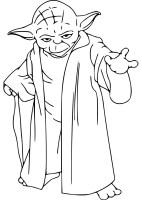 Star Wars Meister Yoda Ausmalbilder
