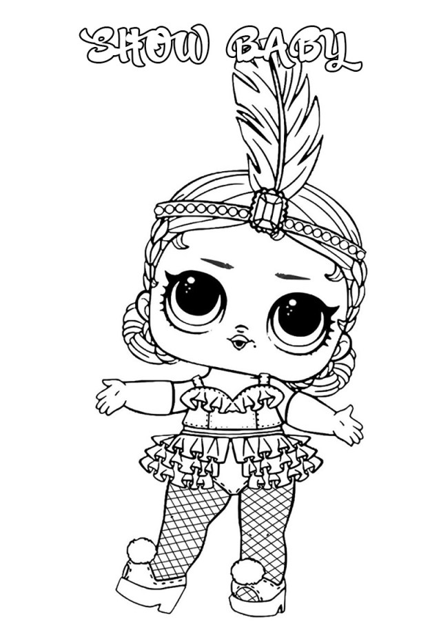 LOL Surprise Dolls Coloring Pages  Print Them for Free! All the