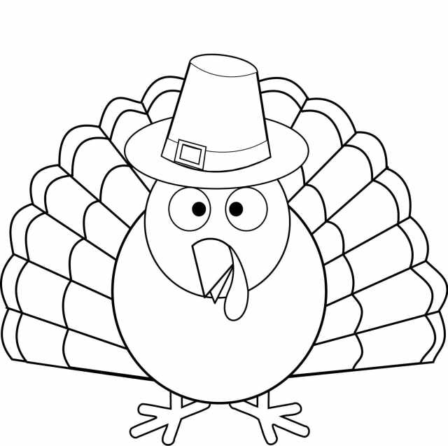 Turkey Coloring Pages  12 Free Printable Coloring Pages