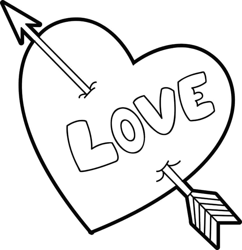 Malvorlage Herz Vorlage Zum Ausdrucken  Herz Mit Papa Als