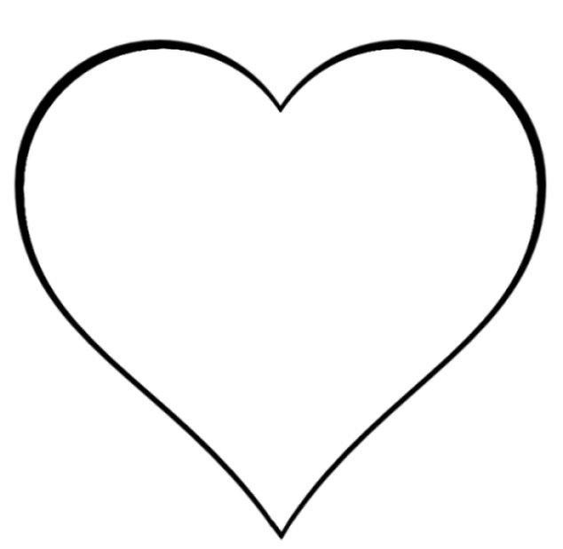 Herz Malvorlage Kinder Ausmalbilder