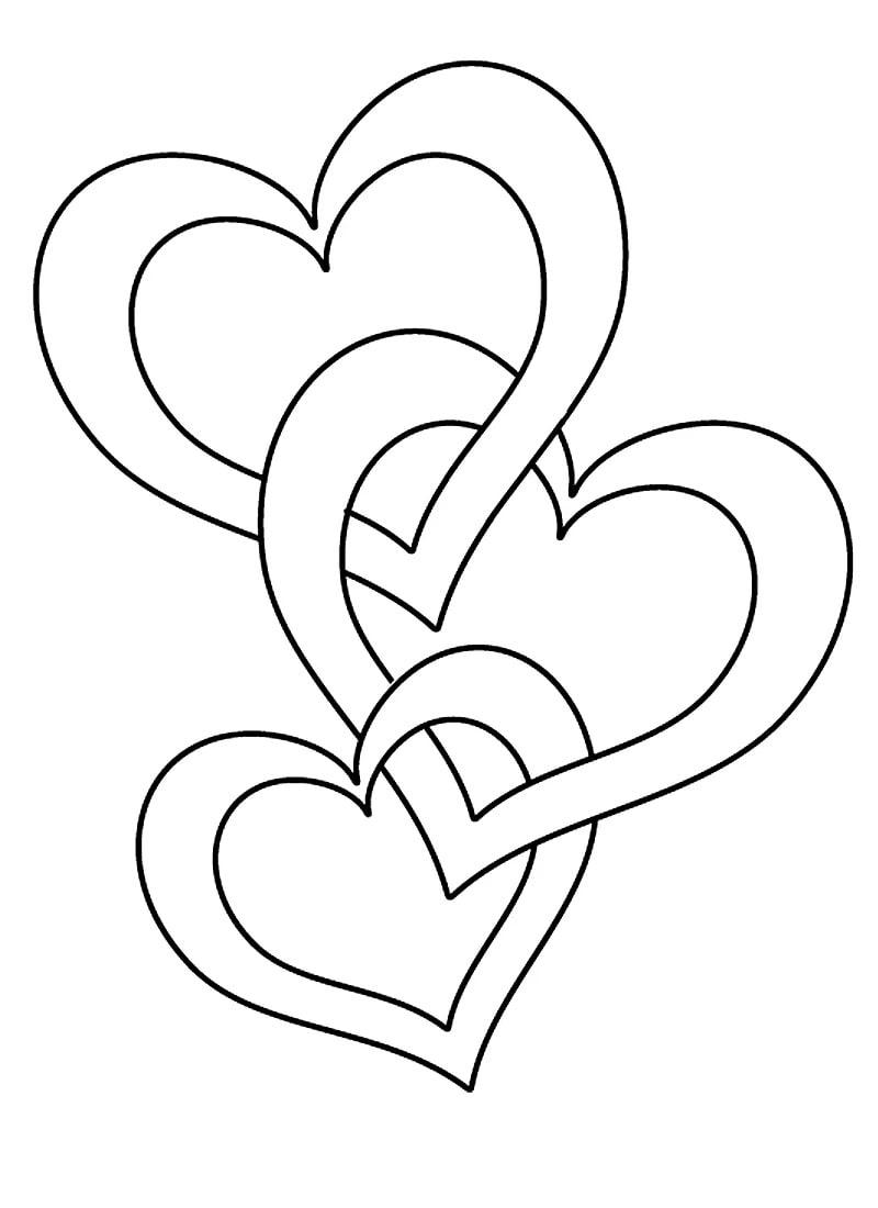 Herzen Mit Rosen Malvorlagen - Malvorlagen Gratis