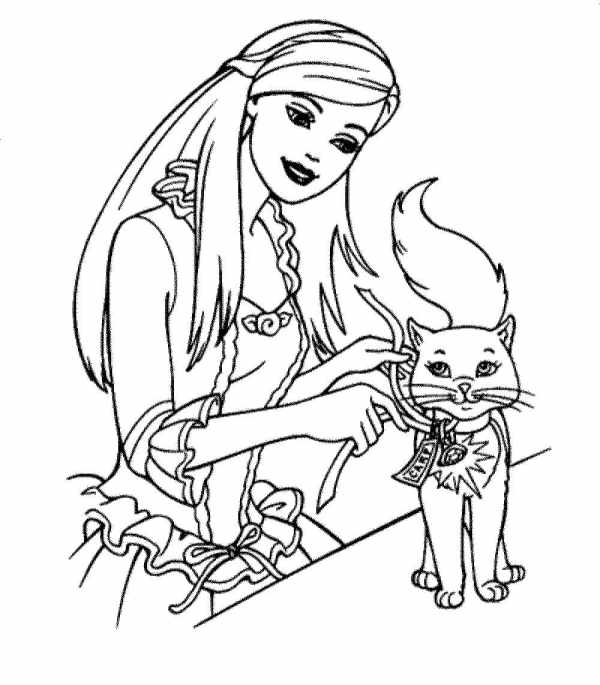 barbie coloring pages free # 35