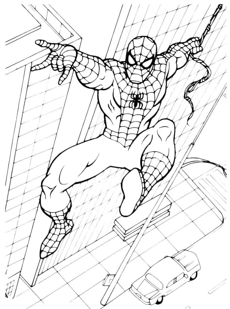 Malvorlagen Superhelden Kostenlos - Kinder zeichnen und