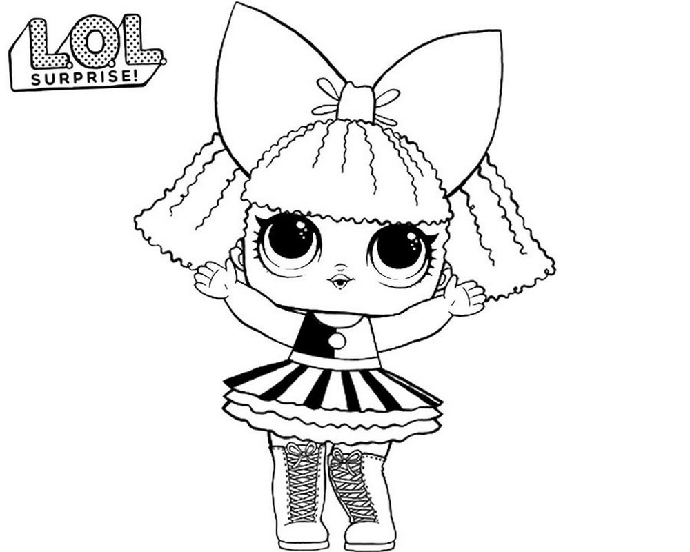 Beautiful Disegni Da Colorare Bambola Lol Surprise Stampa Arenda Stroy
